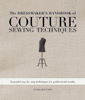 Portada del libro The Dressmaker's Handbook of Couture Sewing Techniques: Essential Step-by-Step Techniques for Professional Results