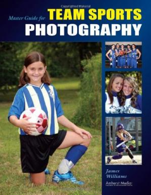 ปกหนังสือ Master Guide for Team Sports Photography
