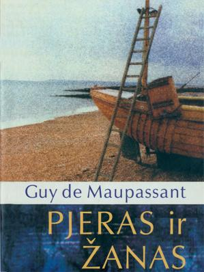 Book cover Pjeras ir Žanas