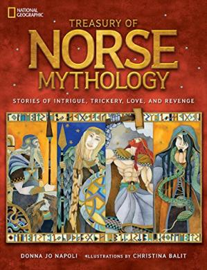 Book cover Treasury of Norse Mythology: Stories of Intrigue, Trickery, Love, and Revenge