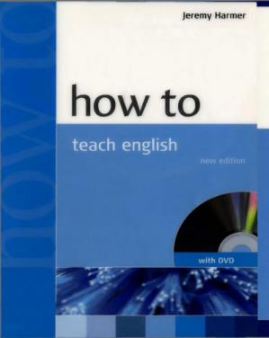 Book cover How to Teach English