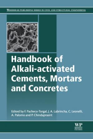 书籍封面 Handbook of alkali-activated cements, mortars and concretes