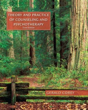Buchdeckel Theory and Practice of Counseling and Psychotherapy