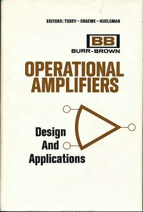 Book cover Operational Amplifiers: Design and Applications