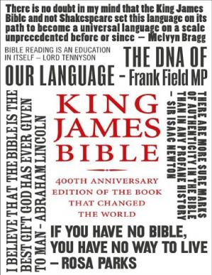 Book cover King James Bible: 400th Anniversary edition of the book that changed the world