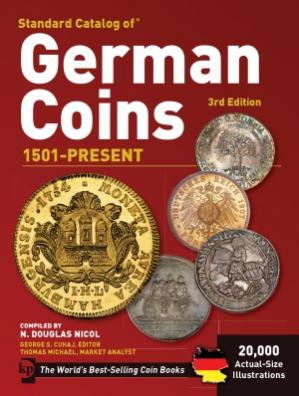 Book cover Standard Catalog of German Coins  1501 to Present