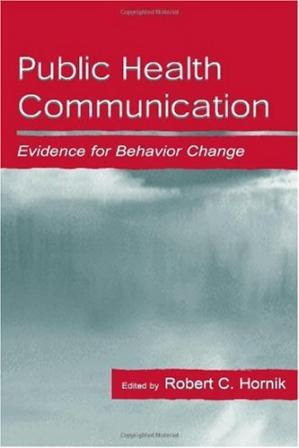 Обложка книги Public Health Communication: Evidence for Behavior Change (Lea's Communication Series)