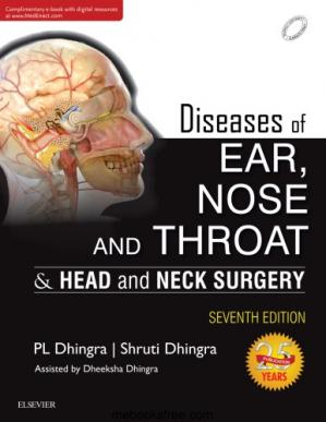 Book cover Diseases of Ear, Nose and Throat & Head and Neck Surgery