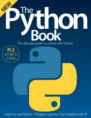 Обкладинка книги The Python Book: The Ultimate Guide to Coding with Python
