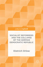 书籍封面 Socialist Reformers and the Collapse of the German Democratic Republic