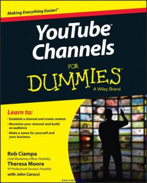 Book cover YouTube Channels For Dummies