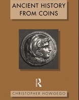 Обложка книги Ancient history from coins