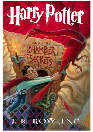 Book cover Harry Potter and the Chamber of Secrets