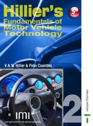 Book cover Hillier's Fundamentals of Motor Vehicle Technology: Powertrain Electronics (Book 2), 5th Edition