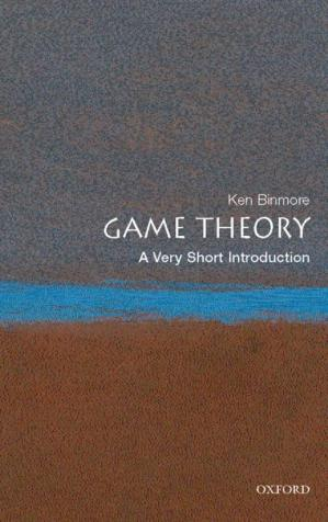 表紙 Game Theory: A Very Short Introduction