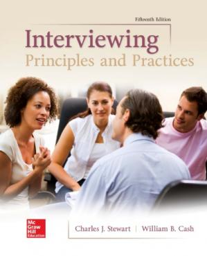 Book cover Interviewing: Principles and Practices
