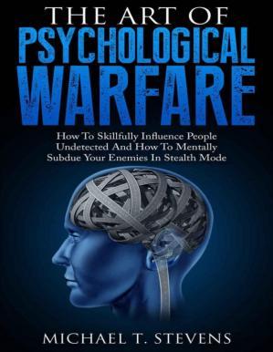 Book cover The Art Of Psychological Warfare