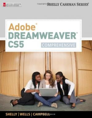 पुस्तक कवर Adobe Dreamweaver CS5: Comprehensive, 1st Edition