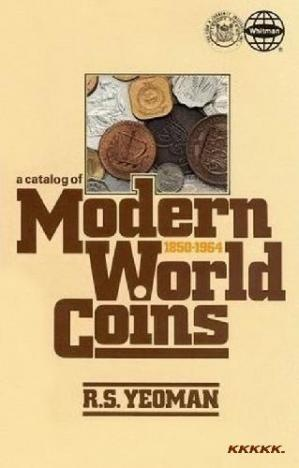 Book cover Catalog of Modern World Coins 1850-1964