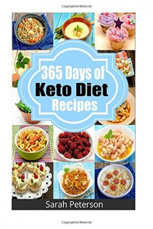 Обложка книги Ketogenic Diet: 365 Days of Keto, Low-Carb Recipes for Rapid Weight Loss