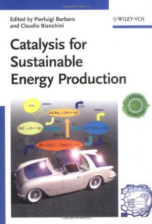Copertina Catalysis for Sustainable Energy Production
