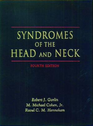 Book cover Syndromes of the Head and Neck (Oxford Monographs on Medical Genetics, No. 42)
