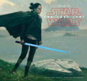 Kitabın üzlüyü The Art of Star Wars: The Last Jedi