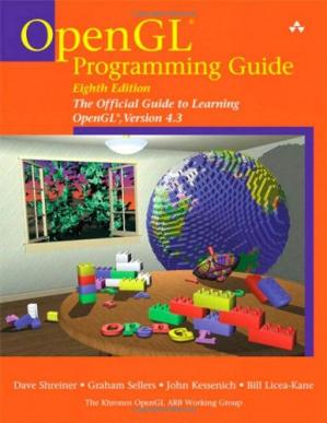 Book cover OpenGL Programming Guide: The Official Guide to Learning OpenGL, Version 4.3