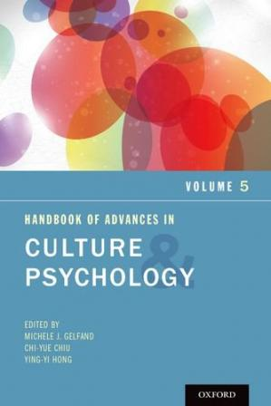 Book cover Handbook of Advances in Culture and Psychology