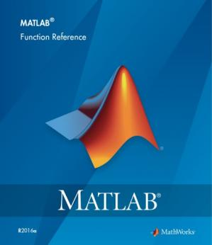 Book cover Matlab 2016 function reference