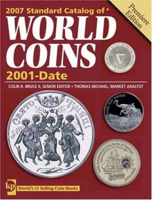 Book cover 2007 Standart catalog of World coins 2001-date