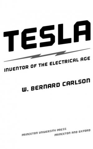 غلاف الكتاب Tesla. Inventor of the Electrical Age