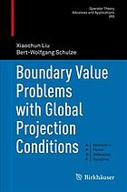 Book cover Boundary value problems with global projection conditions