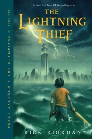 Okładka książki Percy Jackson & the Olympians:  The Lightning Thief