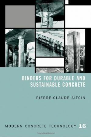 Обложка книги Binders for durable and sustainable concrete