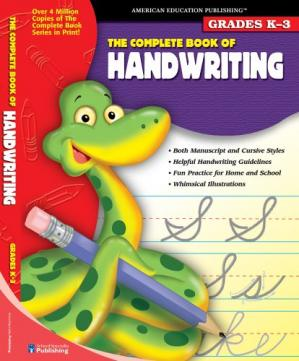 Book cover The Complete Book of Handwriting