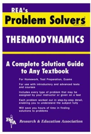 Book cover The thermodynamics problem solver