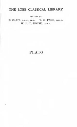 표지 Plato, Laws, II: Books 7-12