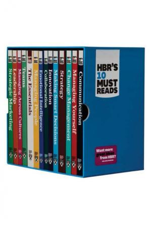 غلاف الكتاب HBR's 10 Must Reads Ultimate Boxed Set