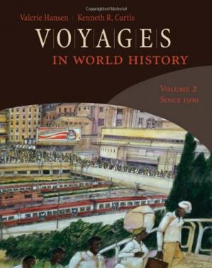 Обкладинка книги Voyages in World History, Volume 2