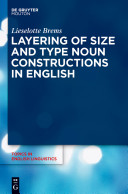 Book cover Layering of Size and Type Noun Constructions in English