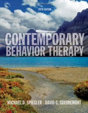 La couverture du livre Contemporary Behavior Therapy, 5th Edition