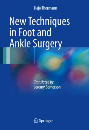 Sampul buku New Techniques in Foot and Ankle Surgery