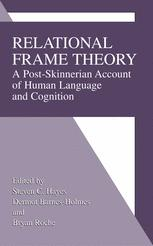 Book cover Relational Frame Theory: A Post-Skinnerian Account of Human Language and Cognition