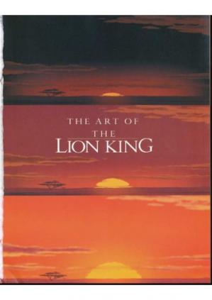 Book cover The Art of the Lion King