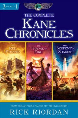 书籍封面 The Complete Kane Chronicles (The Red Pyramid; The Throne of Fire; The Serpent's Shadow)