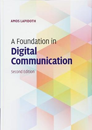 A capa do livro A Foundation in Digital Communication