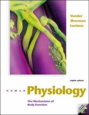 पुस्तक कवर Human Physiology: The Mechanisms of Body Function - 8th edition