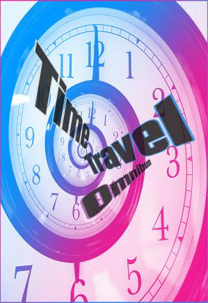 A capa do livro Time Travel Omnibus (Jerry eBooks)