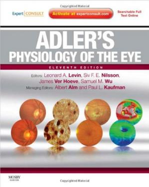 Book cover Adler's Physiology of the Eye: Expert Consult - Online and Print, 11th Edition